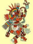 Бог Кецалькоатль