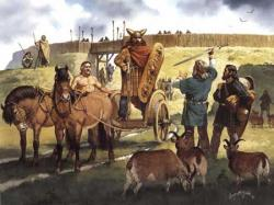 """Рисунки кельтов: """"От Галльштатта до Средневековья"""""""