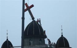 В Китае демонтируют кресты на православных и католических церквях