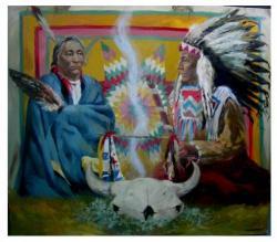 Священный табак у индейцев